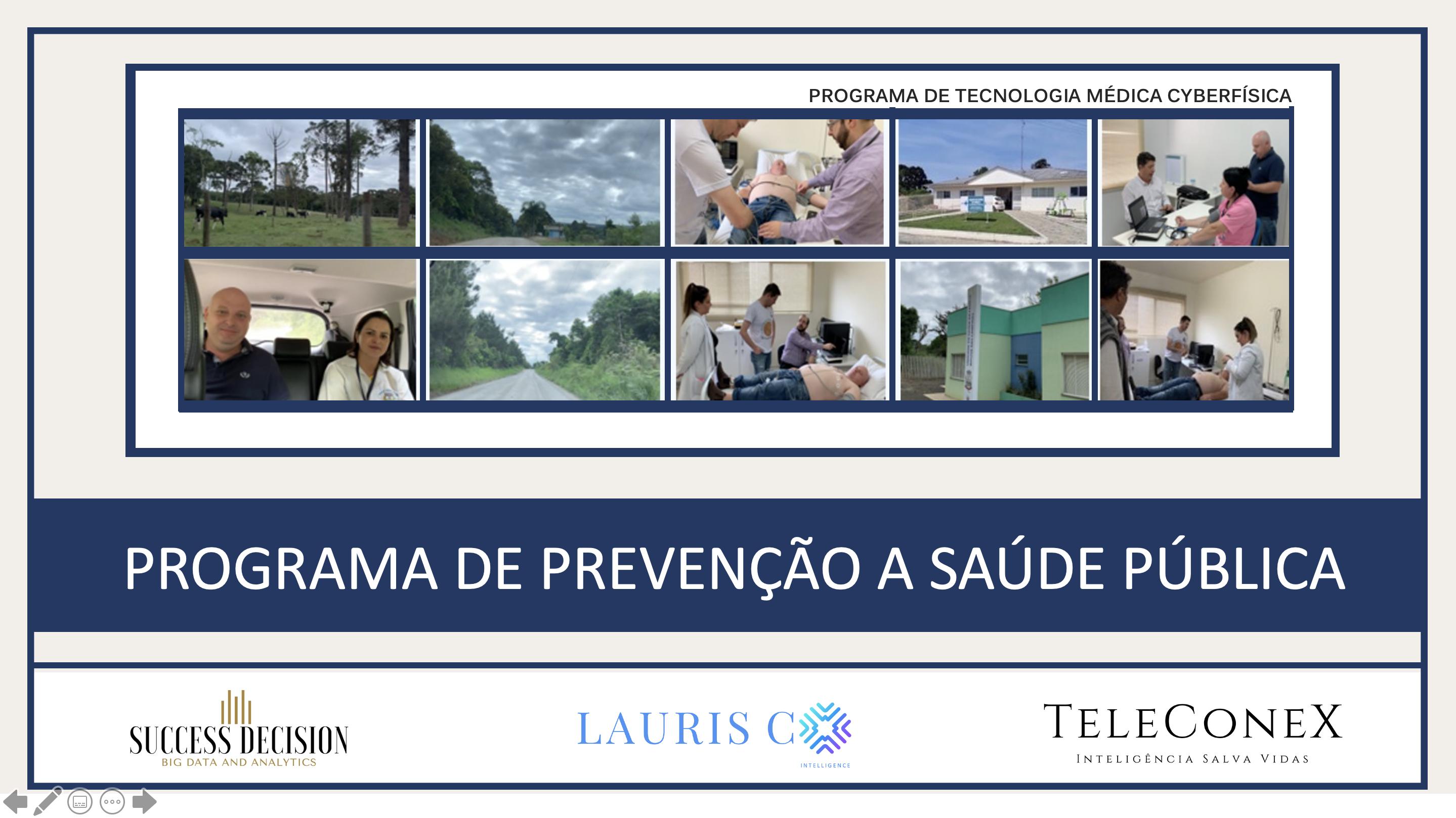 PROGRAMA DE PREVENÇÃO E MONITORAMENTO DA SAÚDE – TELEMEDICINA